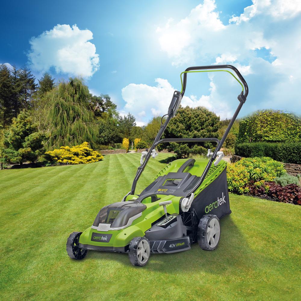Image of Aerotek Series X2 40v Cordless Lawnmower