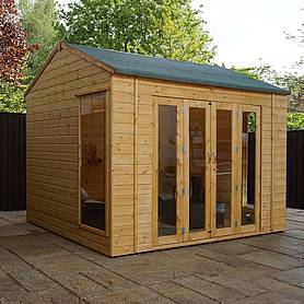Waltons 8ft x 10ft Vermont Wooden Summerhouse