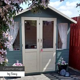 x  waltons bournemouth wooden summerhouse