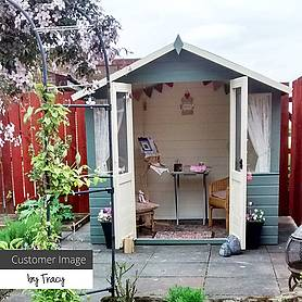 7 x 5 Waltons Bournemouth Wooden Summerhouse