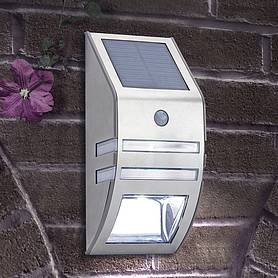 LED Security Wall Light with Motion Sensor