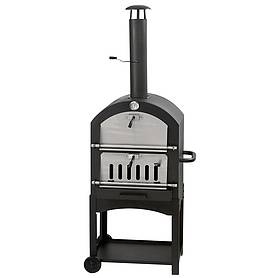 outdoor pizza oven smoker  bbq