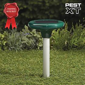 Pest XT Solar Powered Mole Repeller - Twin Pack