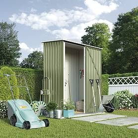Waltons Compact Pent Metal Shed 4.7 X 2.9ft