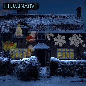 Illuminative Decorative LED Projector Light