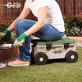 Garden Gear Rotating Seat and Tool Store