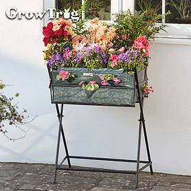 grow trugreg by bvg group ltd tuscan planter including  of veg seed