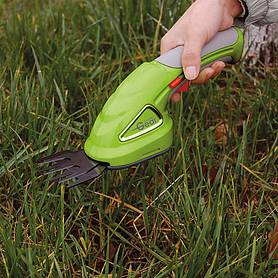 garden gear v cordless lithiumion trimming shears with extension handle