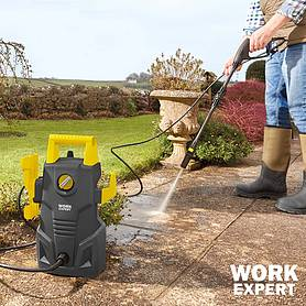 work expert w pressure washer with accessories