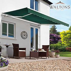 Waltons Easy Fit Half Cassette Awning - Green 250 x 200