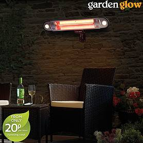 1500W Halogen Heater LED Remote