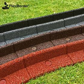 Eco-Friendly Flexi-Border Edging - Twin Pack