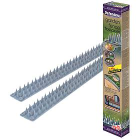 Defenders Prickle Strip Garden Fence Toppers - 6 Pack