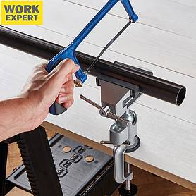 work expert multi angle bench vice with swivel anvil