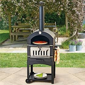 Outdoor Pizza Oven, Smoker & Bbq