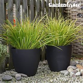Garden Grow Set of 2 Self Watering Plant Pots – Medium