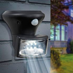 Solar PIR Porch Spotlight