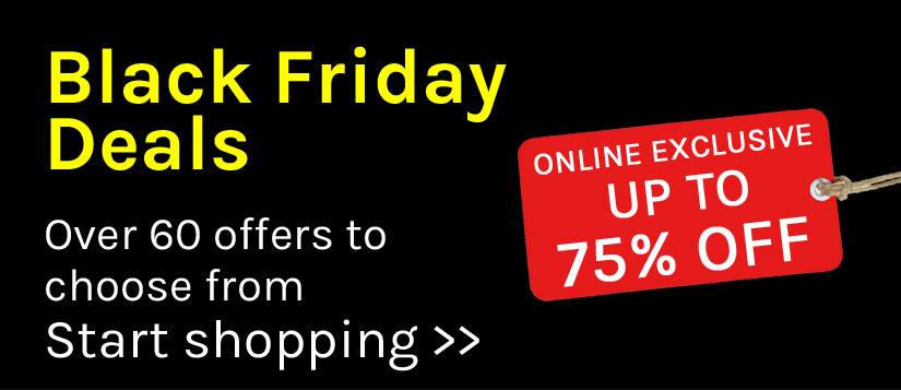 a29fed7534c Pick up a bargain with our Black Friday Daily Deals | Van Meuwen