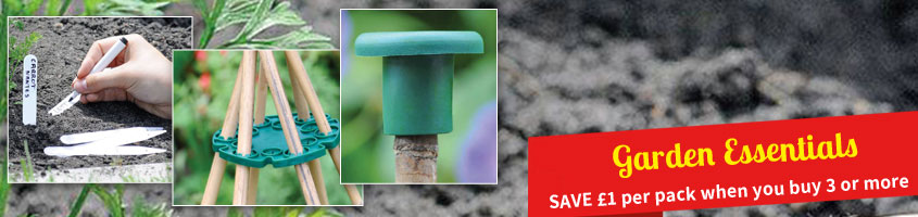 Garden Essentials - SAVE £1 per pack when you buy 3 or more of our garden essentials